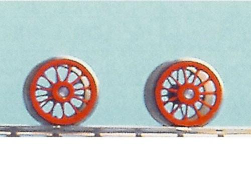 RP25 Tenderradsätze mit 11 Speichen für Tender 2'2'T40 für Rivarossi Baureihe 10