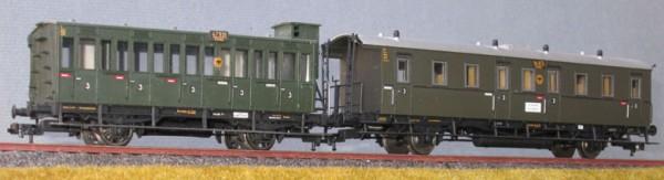 Beschriftungssatz Sächische Personenwagen, Deutsche Reichsbahn, Epoche II