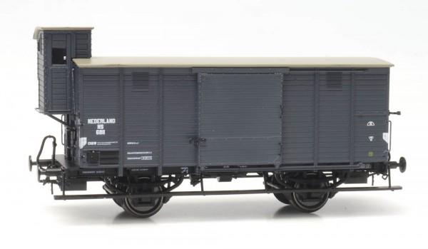 NS CHD 4m-Fahrwerk 6811, grau, Bremserhaus, Epoche II - III