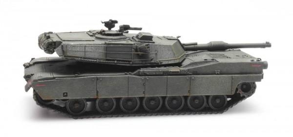 Panzer M1 Abrams grün US-Army Eisenbahntransport