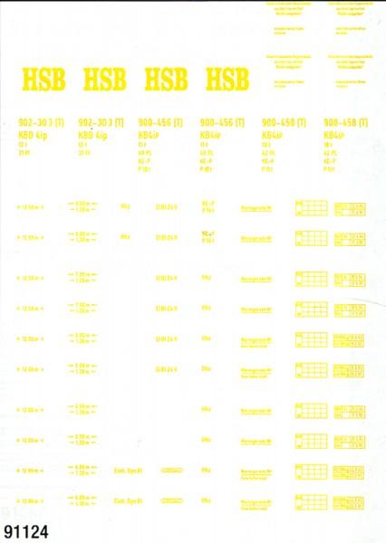 Schiebebildersatz für historische Harzbahnwagen
