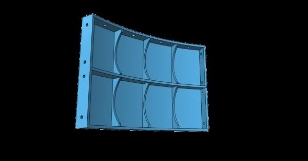 Stahl-Tübbing für Schacht- und Tunnelausbau - 3D-Druck