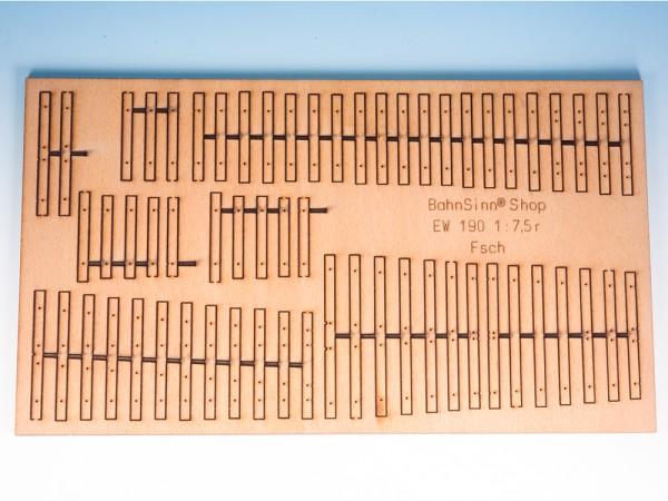 Holzrost für EW 190 - 1:7,5