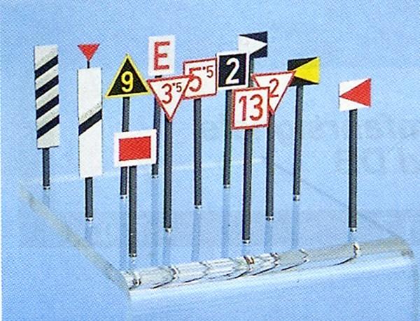 Signaltafeln Österreichische Bundesbahnen - Signale ab 1.6.1980