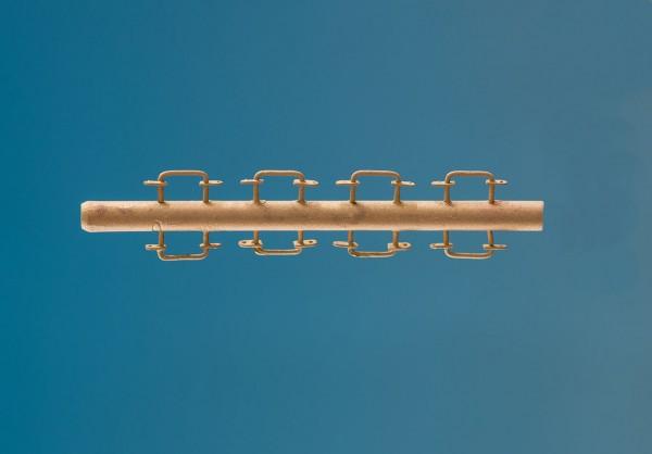 Griffstangen, Grifflänge 5mm, Gesamtlänge 7,5mm