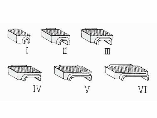 Druckrollenkästen, unterirdisch, verschiedene Größen