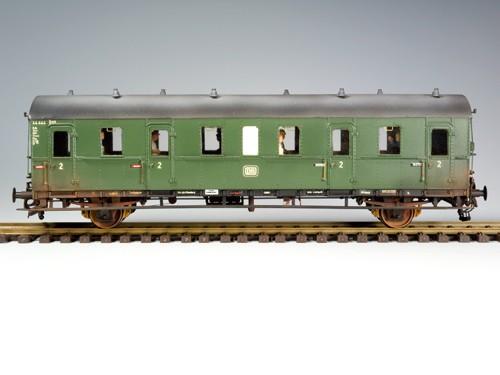D 21b / Cd 21b mit Handbremse DB Epoche III (44 444 Hmb)