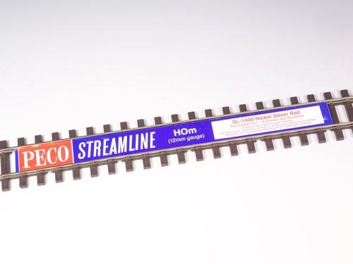 Peco SL1400 Neusilber Flexgleis H0m