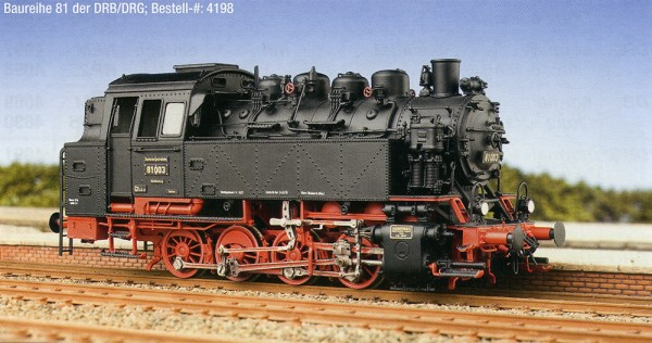 Komplettbausatz Baureihe 81 DRG
