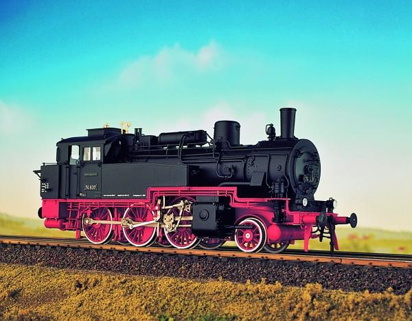 Baureihe 74.4-13 Fertigmodell digitale (preußische T12) Deutsche Bundesbahn