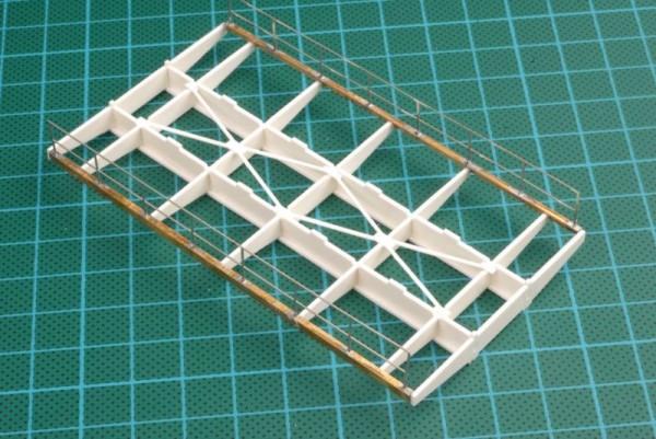 Geschweißte Blechträgerbrücke 103 mm lang - Bausatz