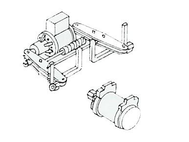 HiK-Bremszylinder und Luftbehälter z.B: Smr 35, Pwgs 41