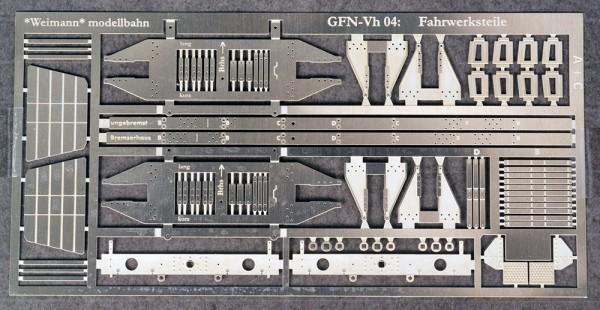 Zurüst- und Umbausatz 1 für Fleischmann Vh 04 (Vwh Altona) von Fleischmann