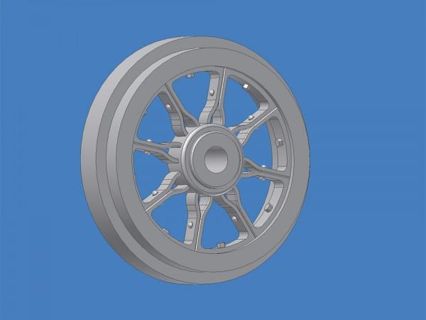FREMO:87 Loshrad (Y-Rad) ø 970 mm (H0 11,15 mm)