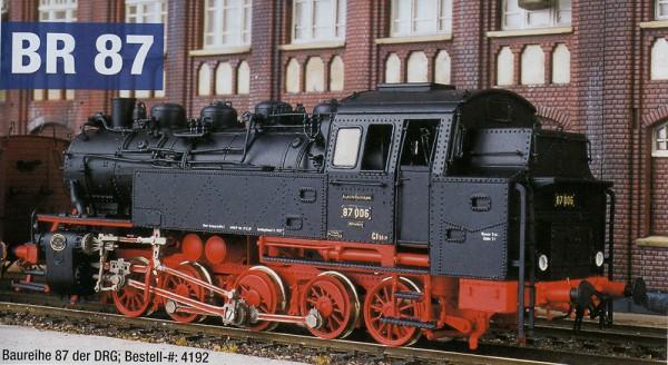 Komplettbausatz Baureihe 87 DRG