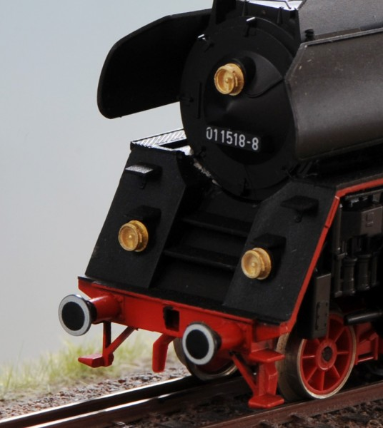 Einbaulaterne für DR-Dampfloks, z.B. Baureihe 01.5, 03.10, 04 usw.