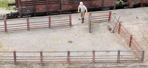 Viehzaun für Viehverladung