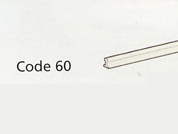 Code 60-Schienenprofile 609 mm lang