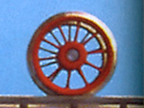 Vorlaufradsatz 10 Speichen, ø 11,5 mm