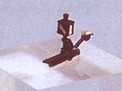 Weichenlaternenattrappen, links, unbeleuchtet, Spur N