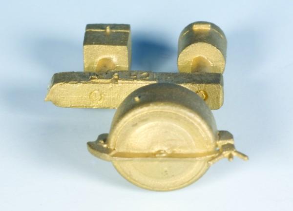 Domdeckel niedrig und Ventilspindelschutzkästen für Kesselwagen