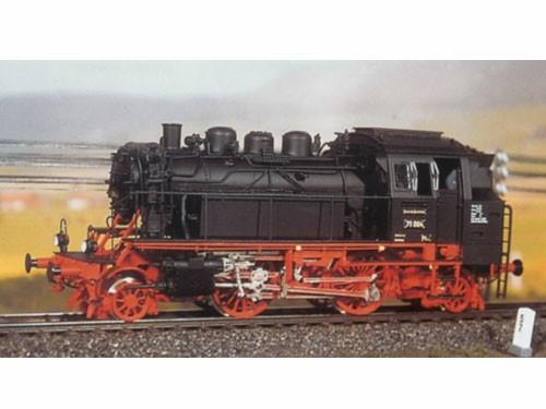 Komplettbausatz Baureihe 71, DRG und DB-Ausführung, RP25 Radsätze