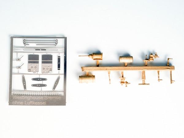 Westinghouse-Bremse mit separatem Luftbehälter