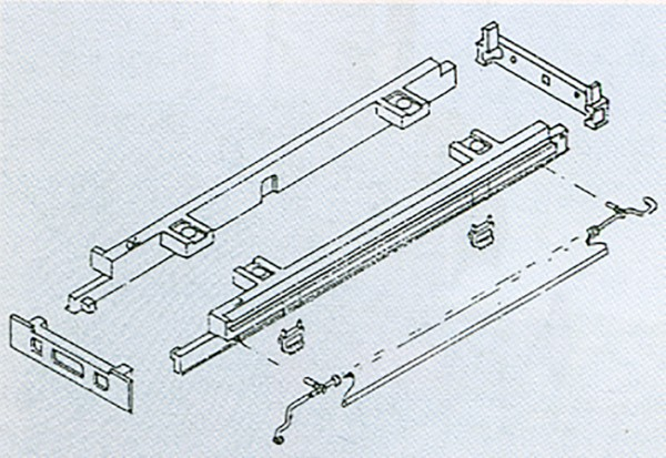 Tenderrahmen-Zurüstsatz für Tender 2'2'T34