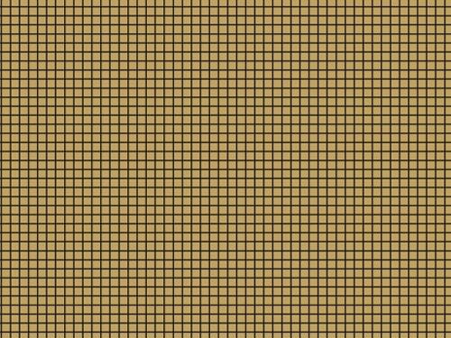 Riffelblech quadratisch superfein geätzt 0,2 mm, 70 x 185 mm