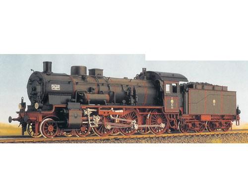 Baureihe 38 (P8), preußisch, Kastentender, Führerhaus mit Tonnendach, DK---