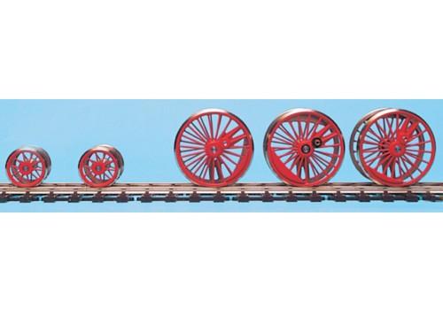 Tauschradsätze für Roco-Modell Baureihe 17, komplett ohne Tender
