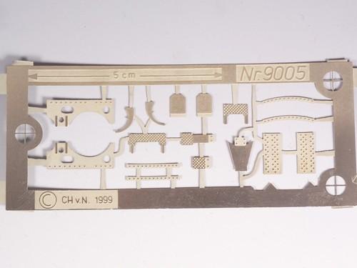 Zurüstteile für Baureihe 52