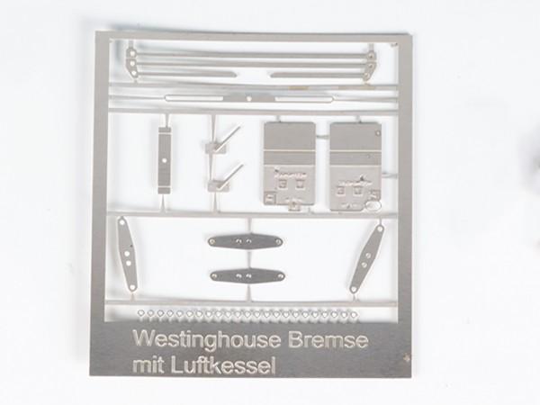 Bremsartumsteller und Bremsgestänge für Westinghouse-Bremse - Ätzteile