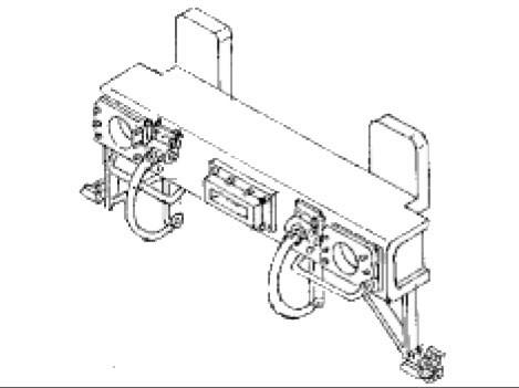 Tenderpufferbohle für Tender 2'2'T26