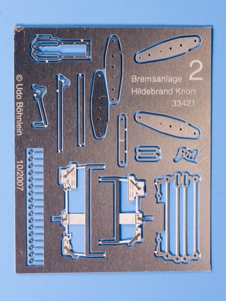 """Bremsgestänge 2, für Hildebrand Knorr-Bremsanlage, """"normale"""" Ausführung"""