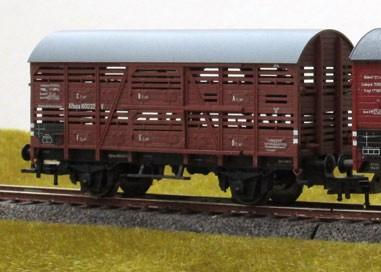 Beschriftungssatz für Verschlagwagen (V), Klappdeceklwagen (K),Deutschen Reichsbahn (DRG) - Epoche I