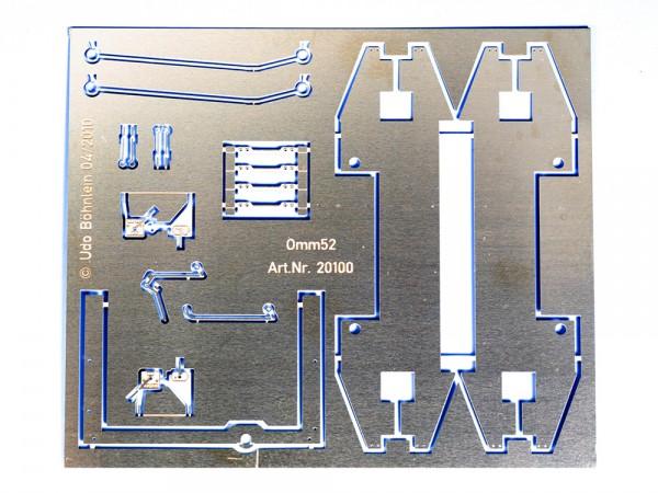 Zurüstsatz für Brawa Omm52/E037 KE-Bremse