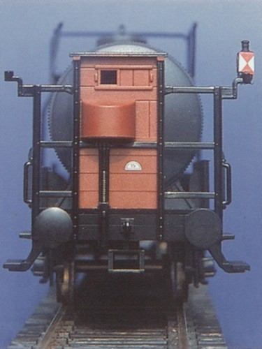 Zugschlusslaternen DB-Ausführung beleuchtet