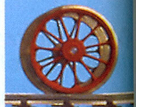 Schleppradsatz 11 Speichen, ø 14,3 mm, RP25