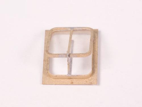 Dachluke - Messing gefräst - 4 Stück