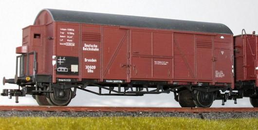 Beschriftungssatz Pwgi-, G- und SS-Wagen DRG - Epoche II
