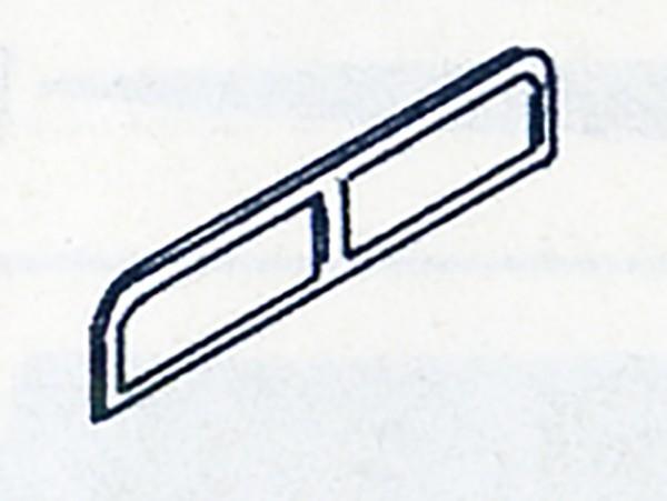 Fenstereinsätze, z.B. für Brekina Bus MB O 5000