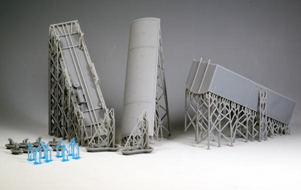Bausatz Fährboot-Kühlwagen Tbnhs 30, große Eisluken, Epoche III Beschriftung - 3D-Druck