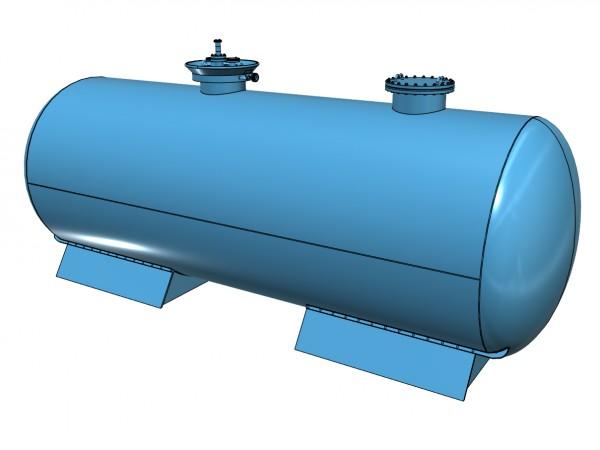 Chemiekesselwagen Bayer für Satzsäure - Tauschkessel für Liliput mit Beschriftung - 3D-Druck