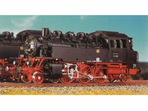 Baureihe 64 DRG/DR, geschweißte Wasserkästen, Scherenbremsen,langer Lüftungsaufsatz