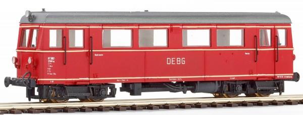 Inneneinrichtung zu 750 mm-Triebwagen VT302 der DEBG