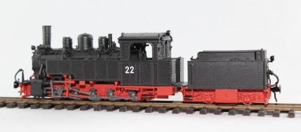 Dampflok Nr. 22 SKGLB (Salzkammergut-Lokalbahn) H0e Bausatz