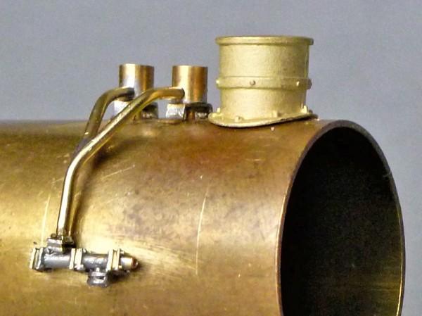 Schalldämpfer und Anstellventik für Gegendruckbremse Lok 50 975 (050 975-2)