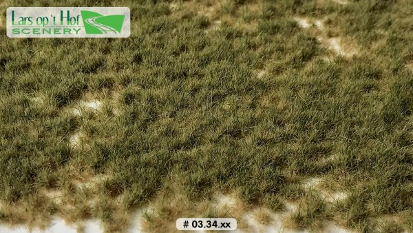 Grasbüschel Wiese Herbst kurz 15 x 21 cm