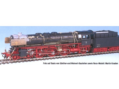 Umbausatz für Baureihe 01 Henschel-Mischvorwärmer (Roco-Modell)
